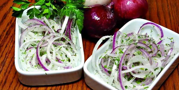 лук в уксусе для салата