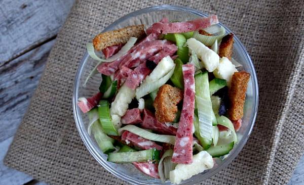 салат хрустящий