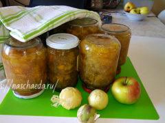 Варенье из физалиса с яблоками и с грушами — 2 вкусных рецепта