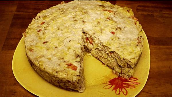 запеканка с рисом и сыром