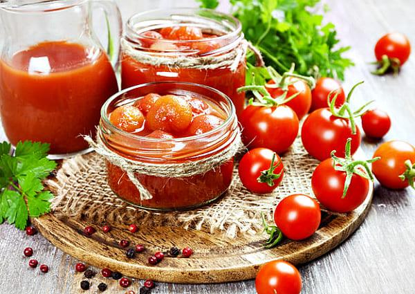 консервированные помидоры черри в соке