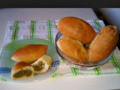 Как приготовить пирожки с печенью в духовке и жареные на сковороде