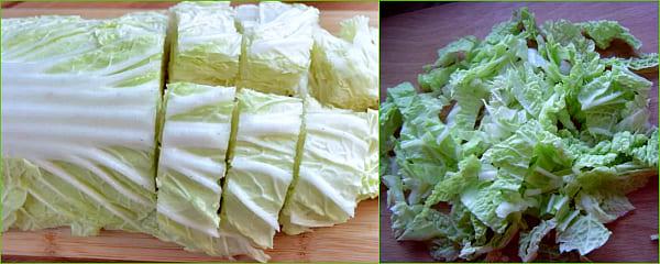 как подготовить капусту