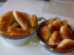 Пирожки с капустой в духовке — легкие в приготовлении рецепты вкусных пирожков