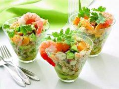 Рецепты салата с креветками — 8 легких и вкусных салатов
