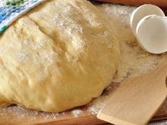 Тесто дрожжевое сдобное — самое вкусное и нежное, как пух