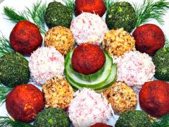 Праздничная закуска из сырных шариков, 11 фантастически простых рецептов
