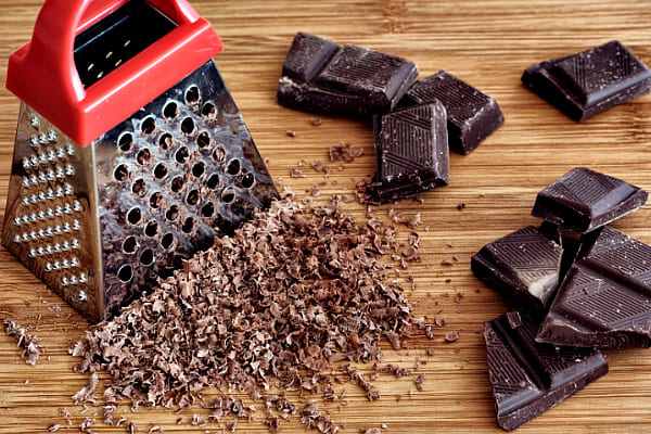 натереть шоколад