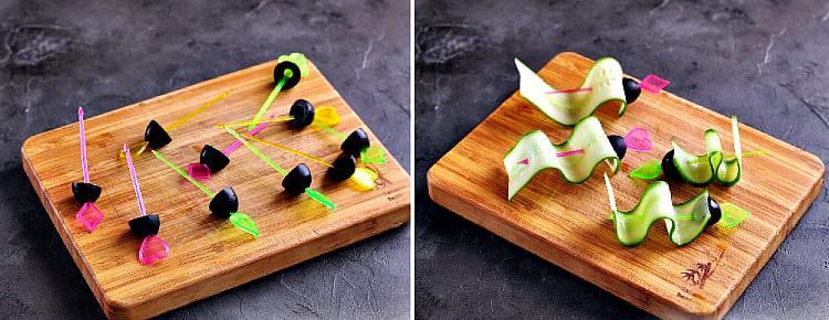 оливки на шпажке