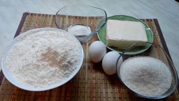 продукты для пирога с корицей