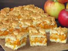 7 необыкновенно вкусных рецептов тертого пирога с яблоком: безе, грушами, шоколадом, бананами…