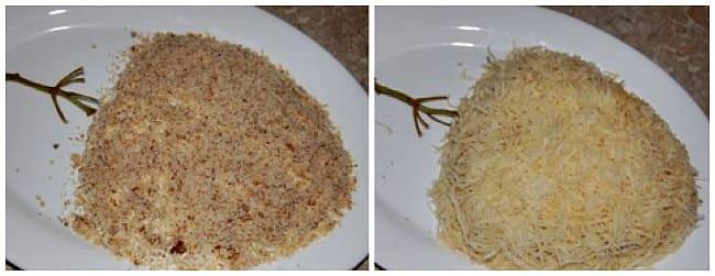 орех и сыр с майонезом