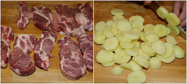 рецепт 1 картофель