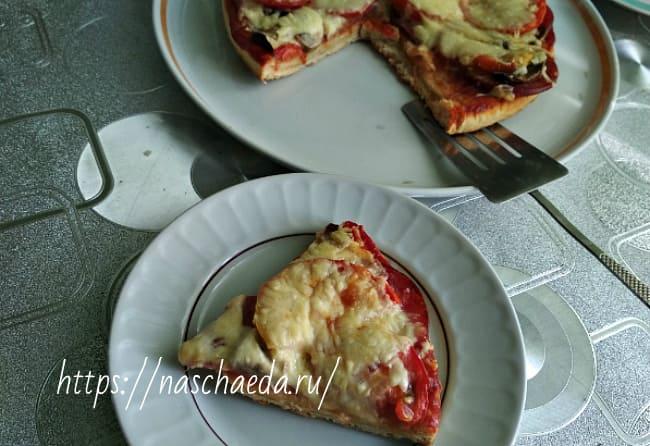 рецепт с колбасой