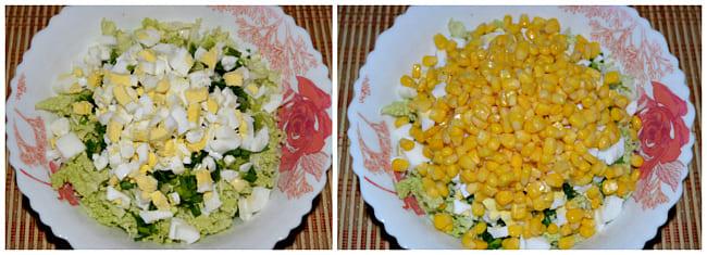 яйца и кукуруза