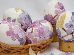 Как и чем покрасить яйца в домашних условиях? Новые пасхальные идеи своими руками