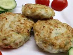 Котлеты куриные с кабачком: рецепты котлет на сковороде и в духовке