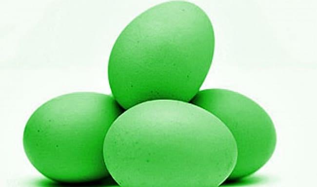зеленкой