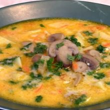 Суп грибной из шампиньонов — 10 рецептов приготовления супа со свежими грибами