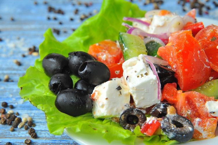 Домашний Греческий салат классический