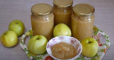 Яблочное пюре на зиму: 7 простых рецептов в домашних условиях